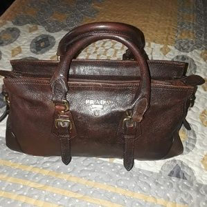 AUTHENTIC PRADA MILANO SATCHEL HANDBAG